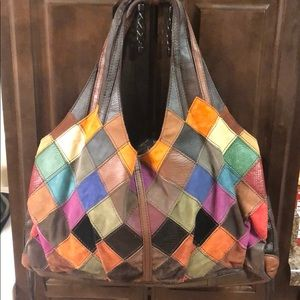 Lucky Brand Patchwork Bag